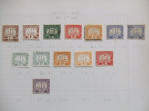 Hong Kong GV/GVI Postage Due collection