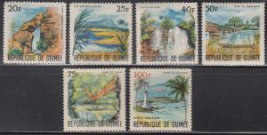 Guinea. Sc # 416-420, C90 (2), MNH, 1966, Scenic View