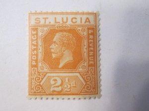 Saint Lucia #82 MH 2019 SCV = $14.00