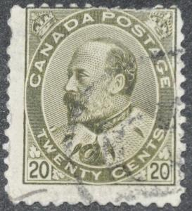 DYNAMITE Stamps: Canada Scott #94 - USED