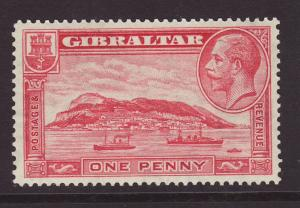 1931 Gibraltar 1d Perf 14 Unmounted Mint
