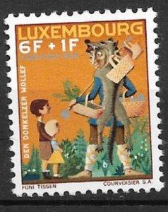 Luxembourg 1966 The Friendly Shepherd of Donkolz MNH**