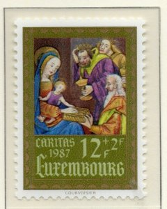 Luxembourg 1987 Early Issue Fine MNH 12F. NW-138037