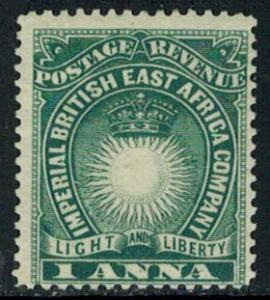 British East Africa Scott 15 Unused lightly hinged.