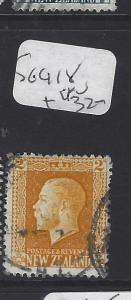 NEW ZEALAND  (PP2411B)    KGV   2D  SG 418   VFU