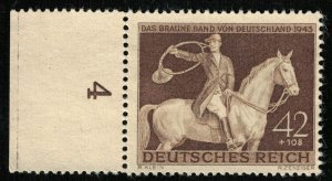 1943, Brown Bonds, Deutsches Reich, MNH, Reich, 42+108 Pfg. (T-7062)