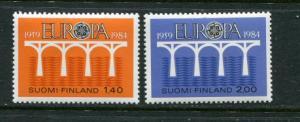 Finland #693-4 MNH 1984 Europa