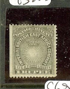 BRITISH EAST AFRICA (P3010B) 1R SUN SG15   MOG