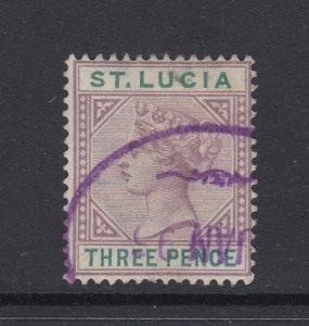 St. Lucia, Scott 32 (SG 47), used