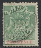 British South Africa Company / Rhodesia  SG 27 Used perf 12½   see scans and...