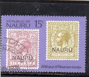 Nauru 60 Years of Nauruan Stamps used