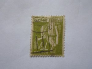 FRANCE STAMP USED VG CON. SC# 272