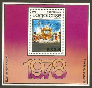 Togo #984 NH QEII Coronation SS