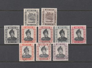 BRUNEI LOT MIX MH AND USED.