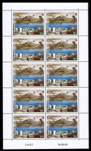 New Caledonia 150th Anniversary of Noumea Sheetlet of 10v SG#1325 MI#1337