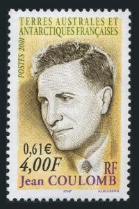 FSAT 284,MNH. Jean Coulomb,2001.