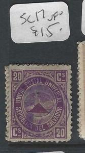 SALVADOR (P2901B) MOUNTAIN  20 C  SC 17    VFU