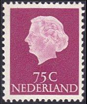 Netherlands # 358 mnh ~ 75¢ Queen Juliana