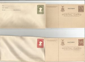 PHILIPPINES POSTAL STATIONARY COLLECTION, MINT, ENTIRES