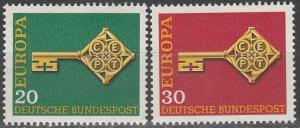 Germany #983-4  MNH F-VF  (SU4929)