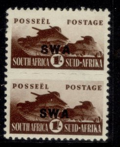 SOUTH WEST AFRICA GVI SG130, 1s brown, M MINT. Cat £19.