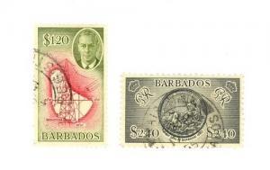 Barbados Scott 226-227     [ID#432661]