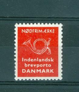Denmark Emergency  Cold War  Stamp 1963 MNH