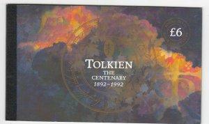 GB QEII 1992 Tolkien Prestige Booklet DX14 MNH JK1751