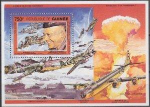 1991 Guinea 1321/B386 Planes 8,00 €
