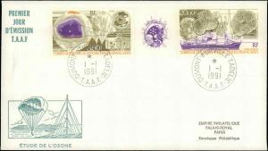 French Southern & Antarctic Territory #198, Antarctic Cachet and/or Cancel
