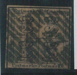 78072 - GERMANY Braunschweig  - STAMP: Michel  #  9a  Fine USED