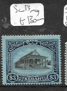 MALAYA KEDAH   (PP0405B)  $3.00  SG 18  MOG