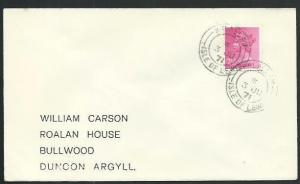 GB SCOTLAND 1971 cover BALALLAN / ISLE OF LEWIS cds........................66670