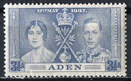 Aden; 1937; Sc. # 15; */MH Single Stamp