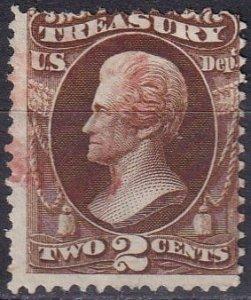 US #O73  Used CV $8.00 (Z1565)