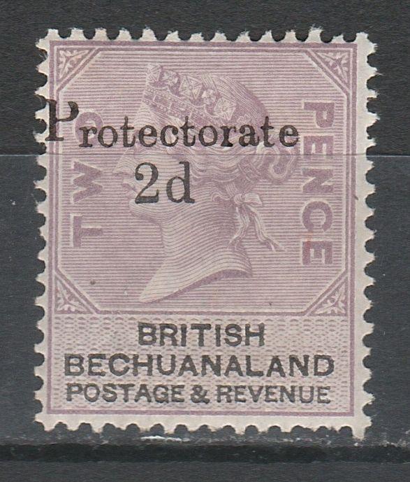 BECHUANALAND 1888 PROTECTORATE QV 2D