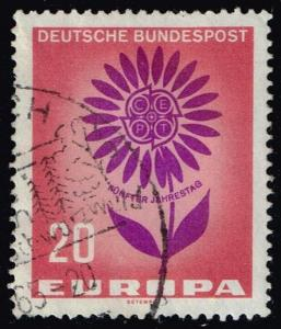 Germany #898 Europa CEPT - Flower; Used (0.25)