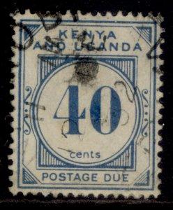 KENYA UGANDA TANGANYIKA GV SG D5, 40c dull blue, USED. Cat £14.