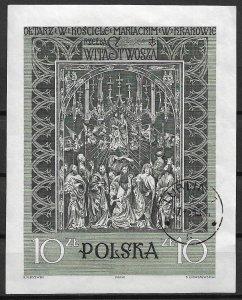 1960 Poland 931 The Assumption of the Virgin S/S CTO