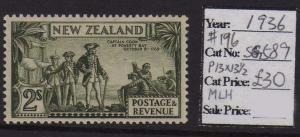 New Zealand Pictorial 1936 SG 589 MH