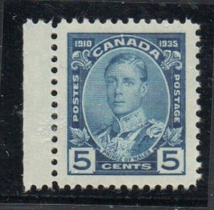 Canada Sc 214 1934 5c Prince of Wales stamp mint NH