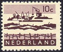 Netherlands # 403 mnh ~ 10¢ Dredging In Delta