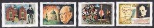 Antigua MNH 349-52 Centenary Of Winston Churchill 1974