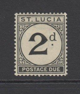 St. Lucia, Scott J4 (SG D4), MHR
