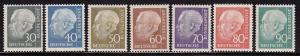 Germany 755 - 761 set VF-OG-NH scv $ 38 ! see pic !
