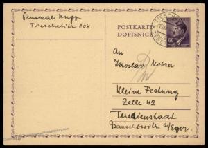3rd Reich Germany 1944 Theresienstadt Gestapo Tieschen  Kleine Festung Pri 89522
