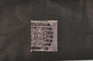 Great Britain.  Scott 51 used . Scott cv: $85.00