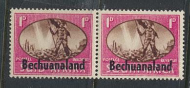 Bechuanaland  SG 129 Lightly Mounted Mint - Pair