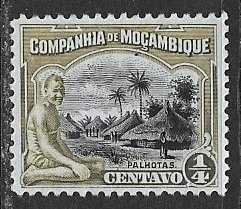 Mozambique Company ~ Scott # 109 ~  Unused ~ No Gum