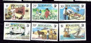 Bermuda 406-11 MNH 1981 set